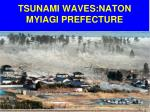 tsunami waves naton myiagi prefecture