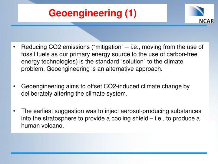 Geoengineering (1)