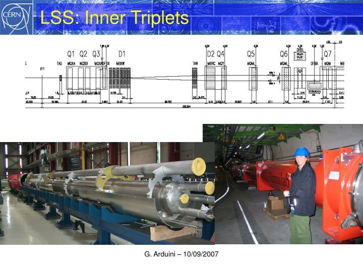 LSS: Inner Triplets