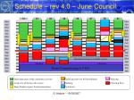 schedule rev 4 0 june council