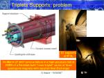 triplets supports problem