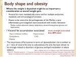 body shape and obesity
