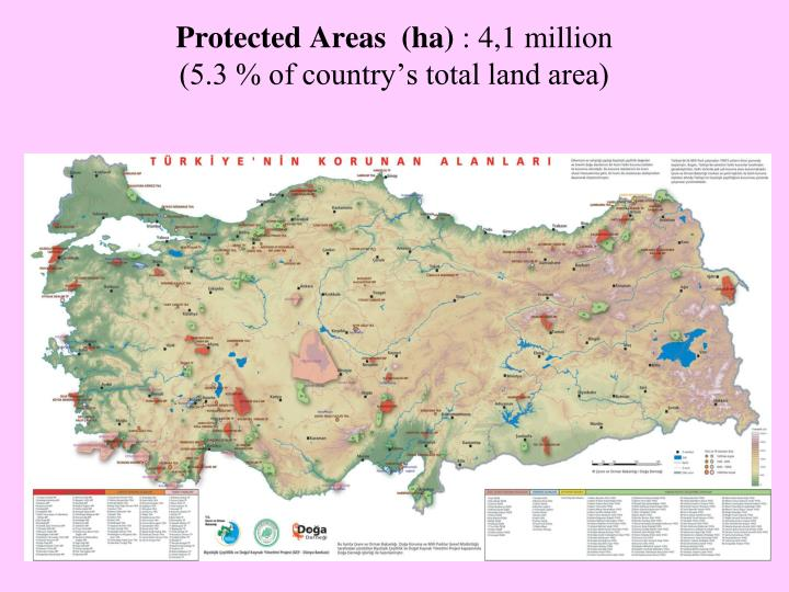 Protected Areas  (ha)