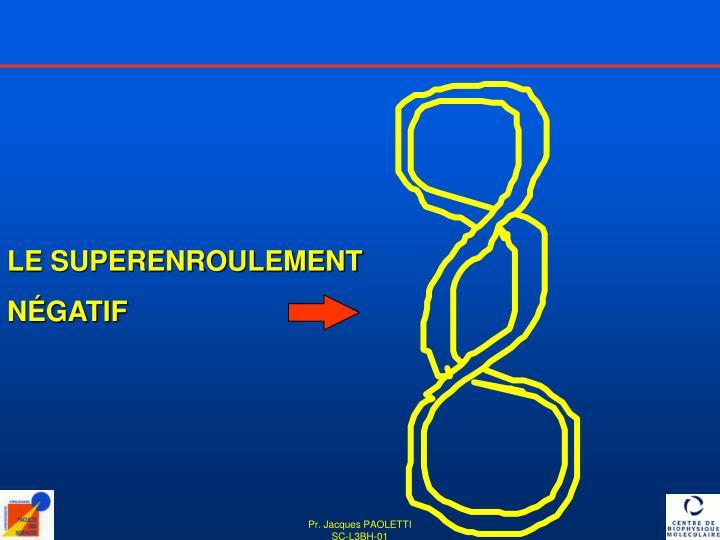 LE SUPERENROULEMENT