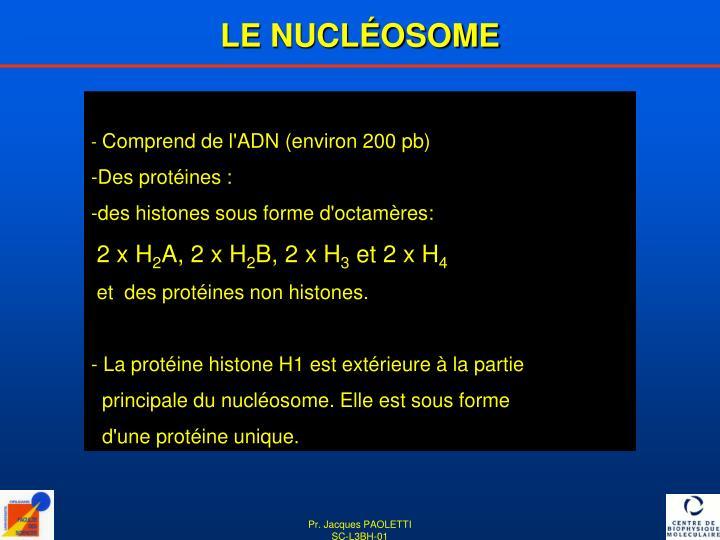 LE NUCLÉOSOME