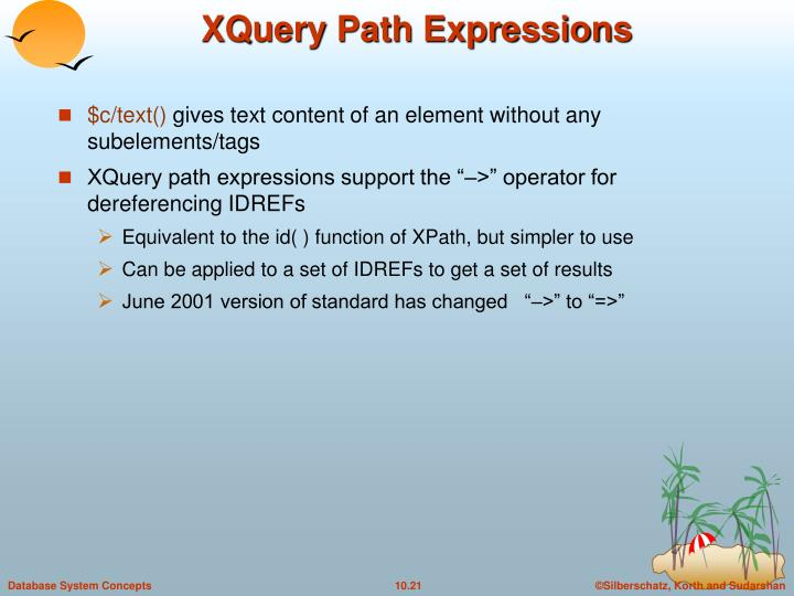 XQuery Path Expressions