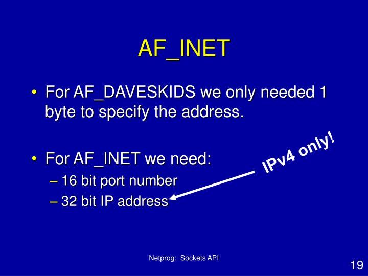 AF_INET