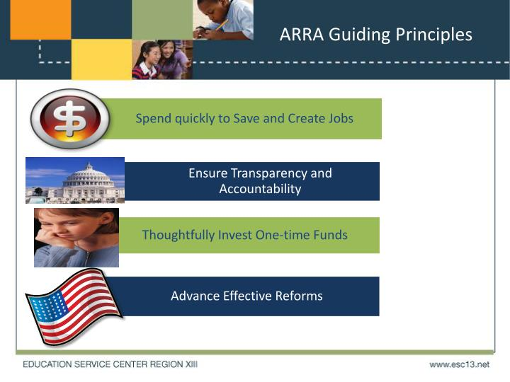 ARRA Guiding Principles