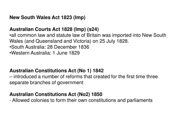 New South Wales Act 1823 (Imp)