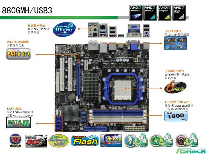 880GMH/USB3