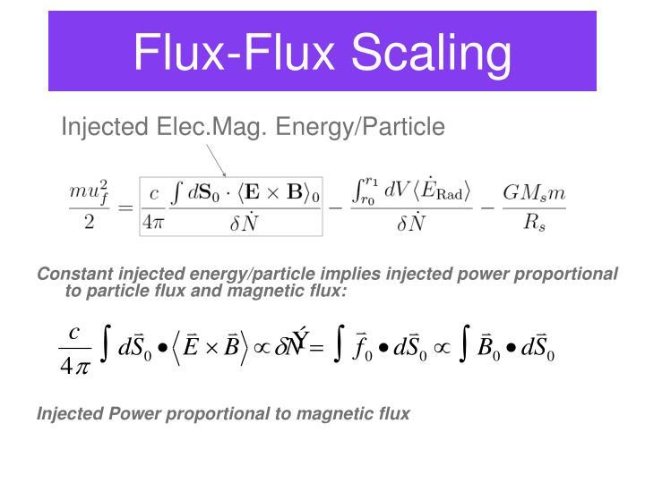 Flux-Flux Scaling