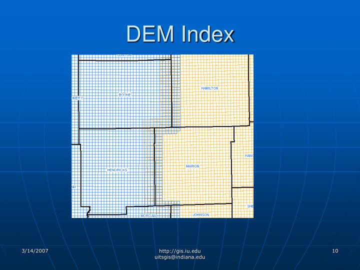 DEM Index