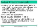 confronti di valori in virgola mobile2