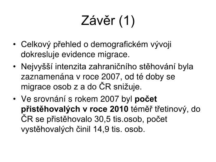 Závěr (1)