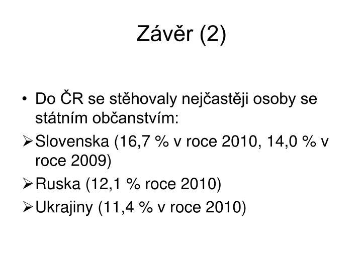 Závěr (2)