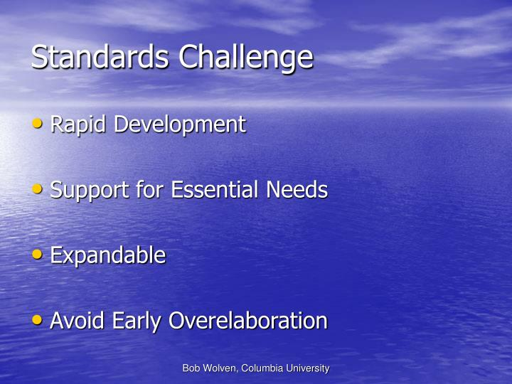 Standards Challenge