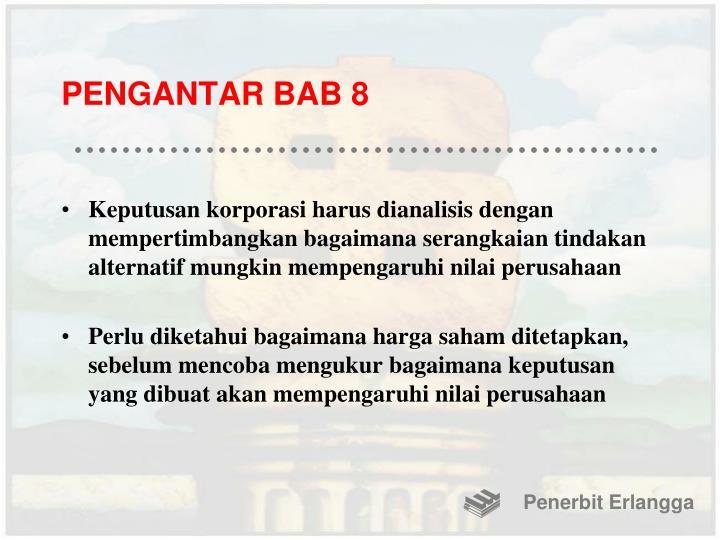PENGANTAR BAB 8