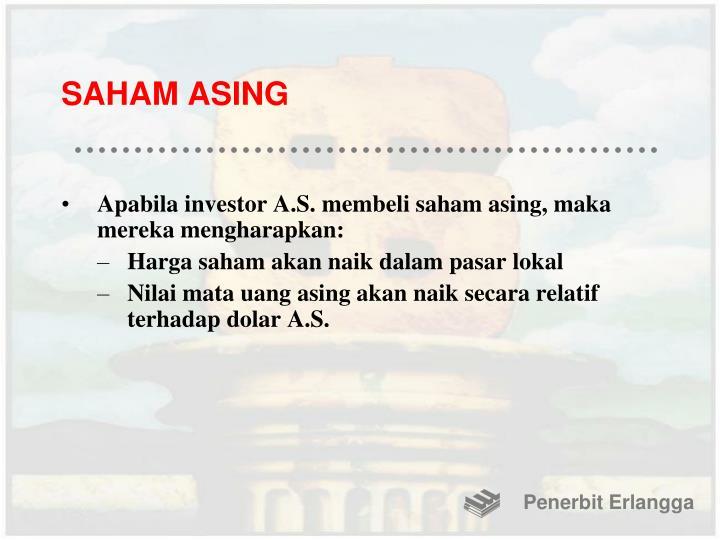 SAHAM ASING