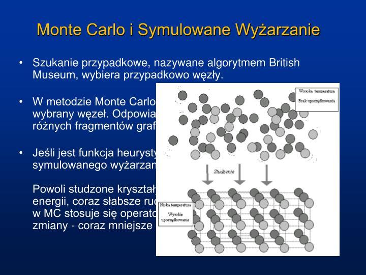 Monte Carlo i Symulowane Wyżarzanie