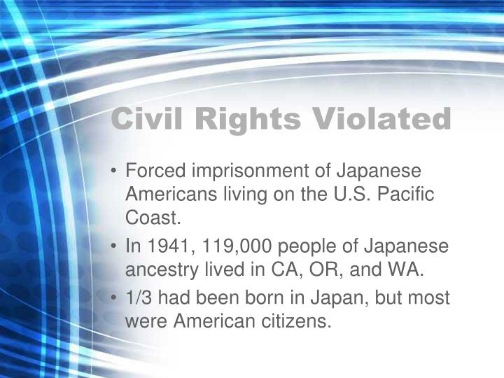 Civil Rights Violated
