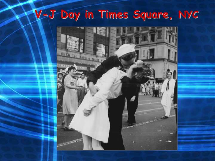 V-J Day in Times Square,