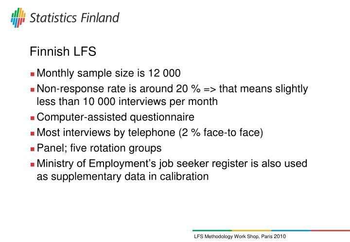Finnish LFS