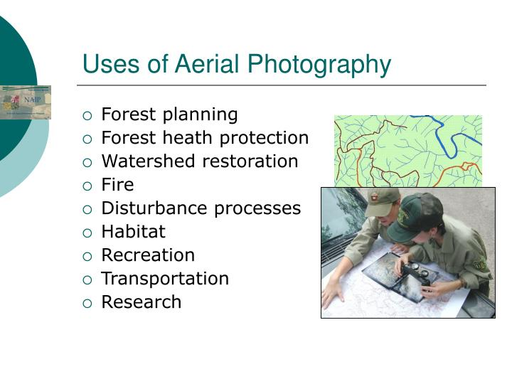 Uses of aerial photography