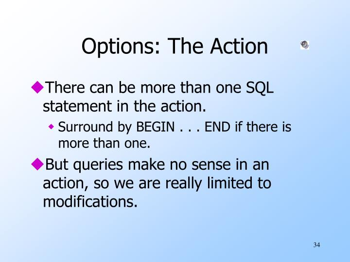 Options: The Action