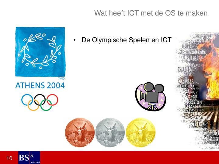 Wat heeft ICT met de OS te maken