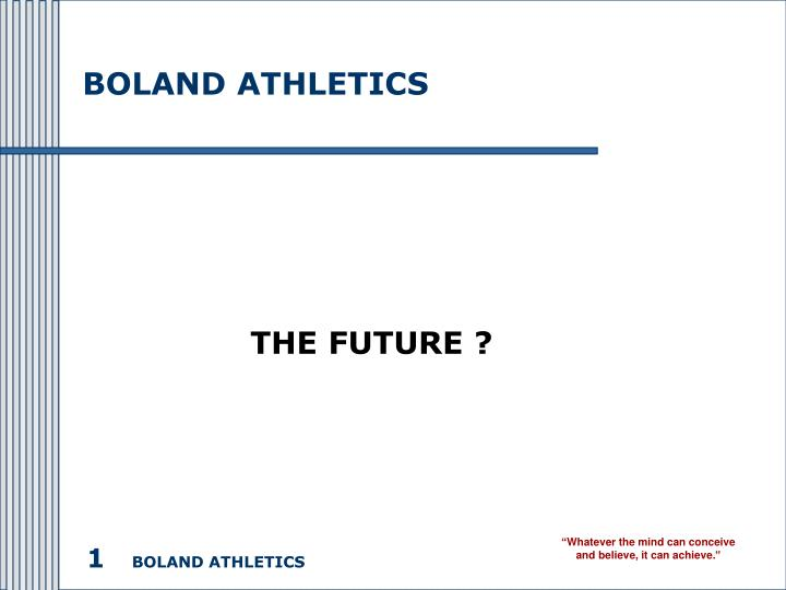 Boland athletics