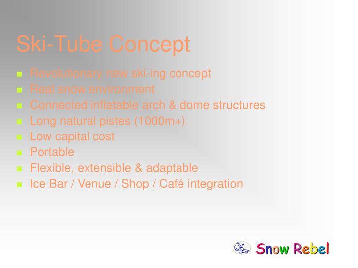 Ski-Tube Concept