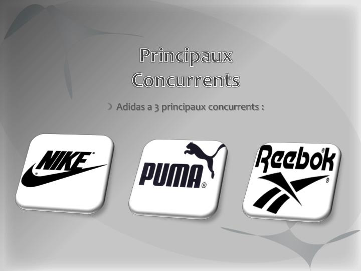 Principaux Concurrents