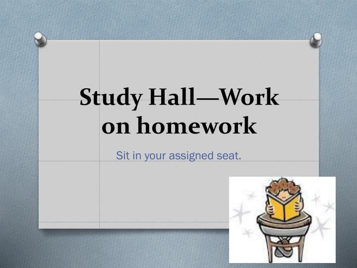Studies About Homework