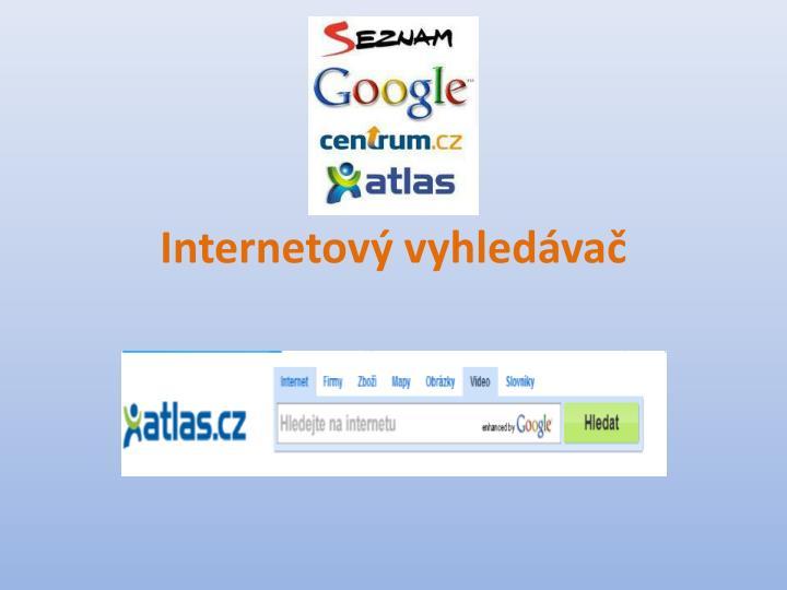 Internetov vyhledva
