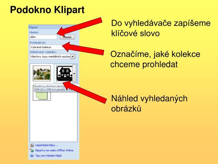 Podokno Klipart