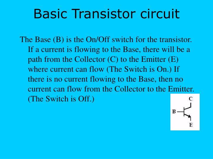Basic Transistor circuit