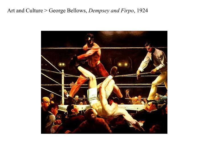 Art and Culture > George Bellows,