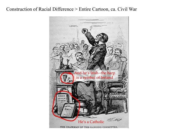 Construction of Racial Difference > Entire Cartoon, ca. Civil War