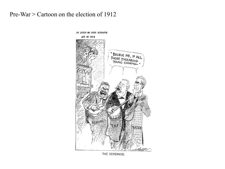 Pre-War > Cartoon on the election of 1912