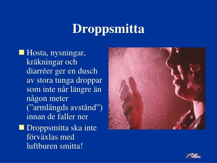 Droppsmitta