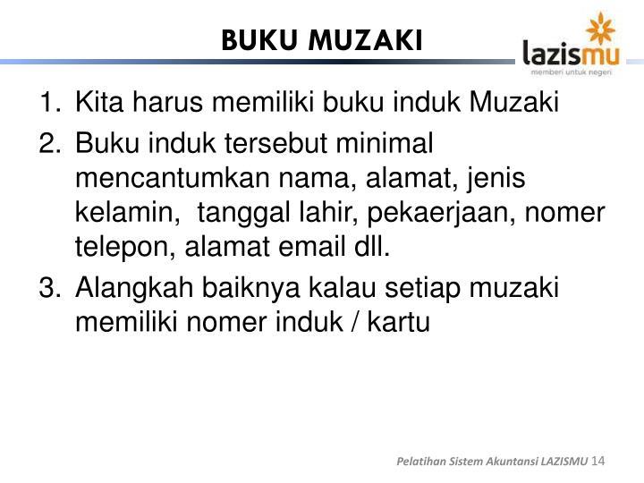 BUKU MUZAKI