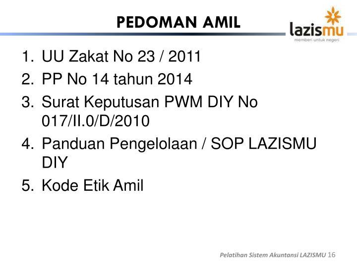 PEDOMAN AMIL