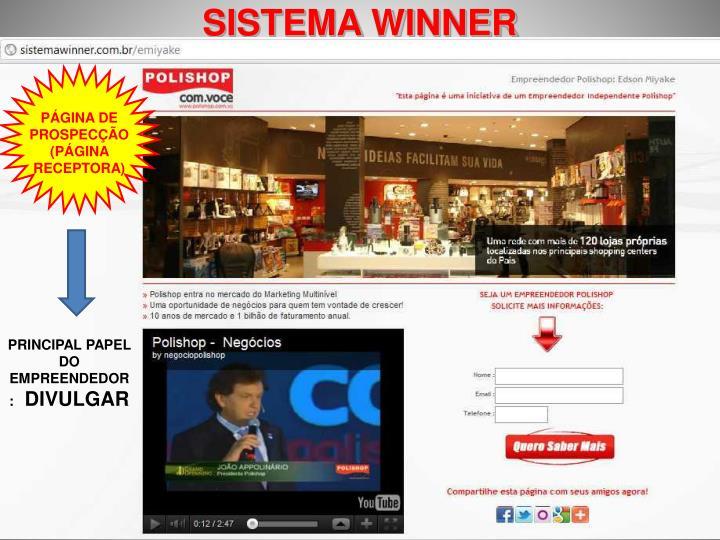 SISTEMA WINNER
