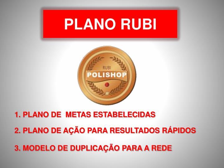 PLANO RUBI