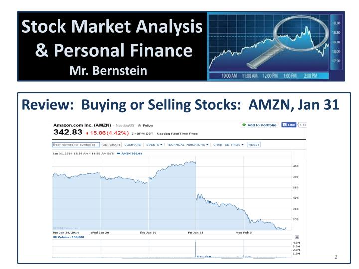 Stock market analysis personal finance mr bernstein
