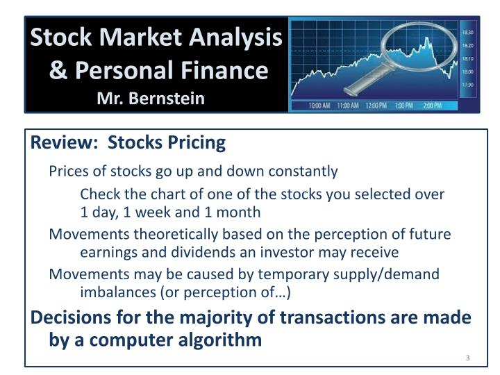 Stock market analysis personal finance mr bernstein1
