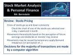 stock market analysis personal finance mr bernstein1