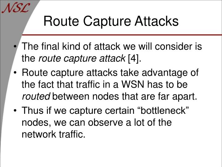 Route Capture Attacks