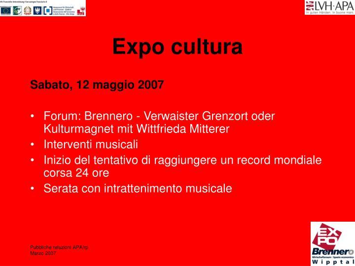 Expo cultura