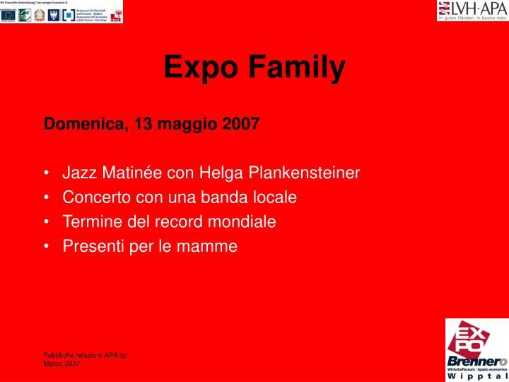 Expo Family